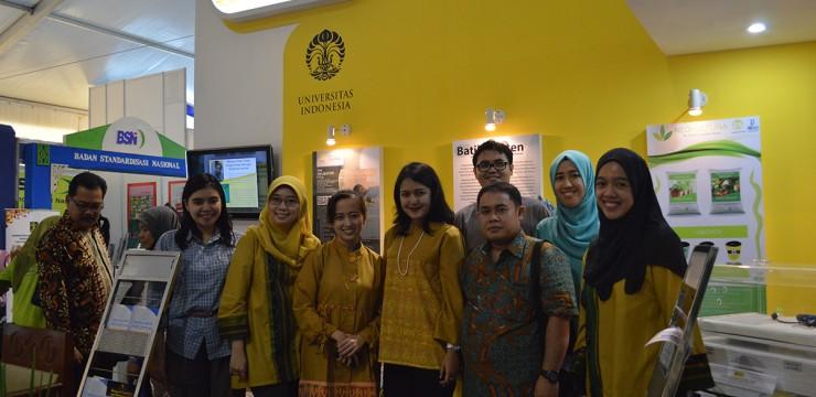 UI Turut Gelar Hasil Karya Penelitian dan Inovasi di Indonesia Science Expo 2015