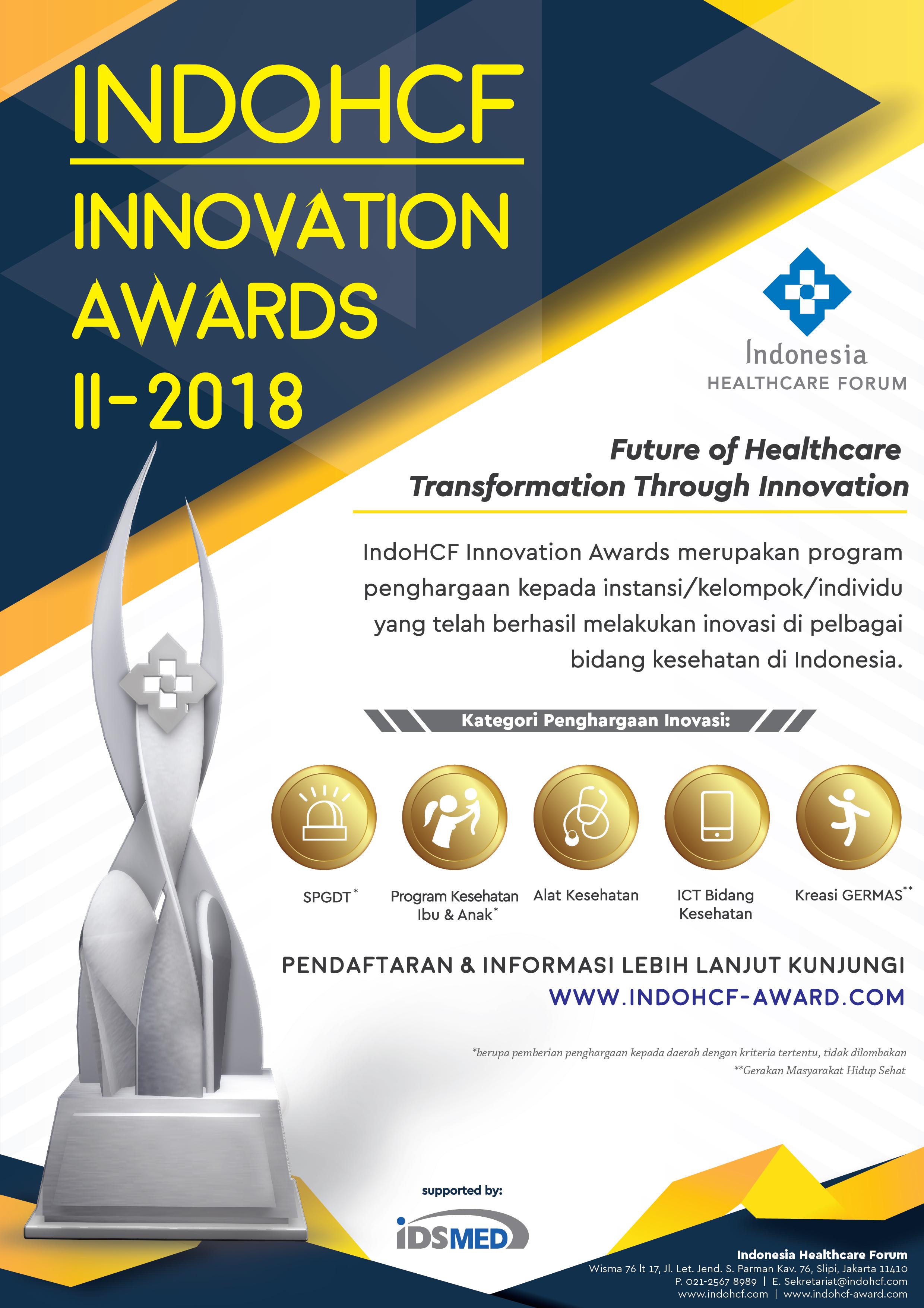 FA Poster IndoHCF Innovation Awards II-2018 20171220