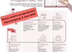 BATAS AKHIR PENDAFTARAN SELEKSI 110 INOVASI INDONESIA 2018 DIPERPANJANG