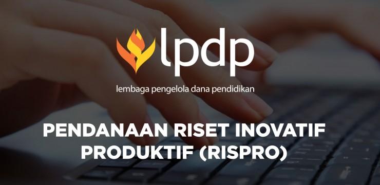 Program Pendanaan Riset Inovatif Produktif LPDP