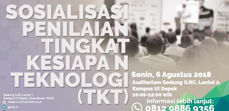 Sosialisasi Penilaian Tingkat Kesiapan Teknologi (TKT)