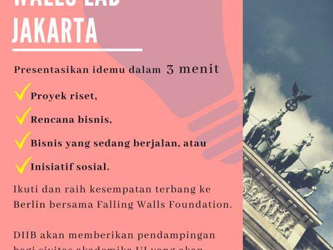 THE FALLING WALLS LAB JAKARTA