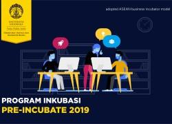 PENDAFTARAN UI PRE-INCUBATE 2019