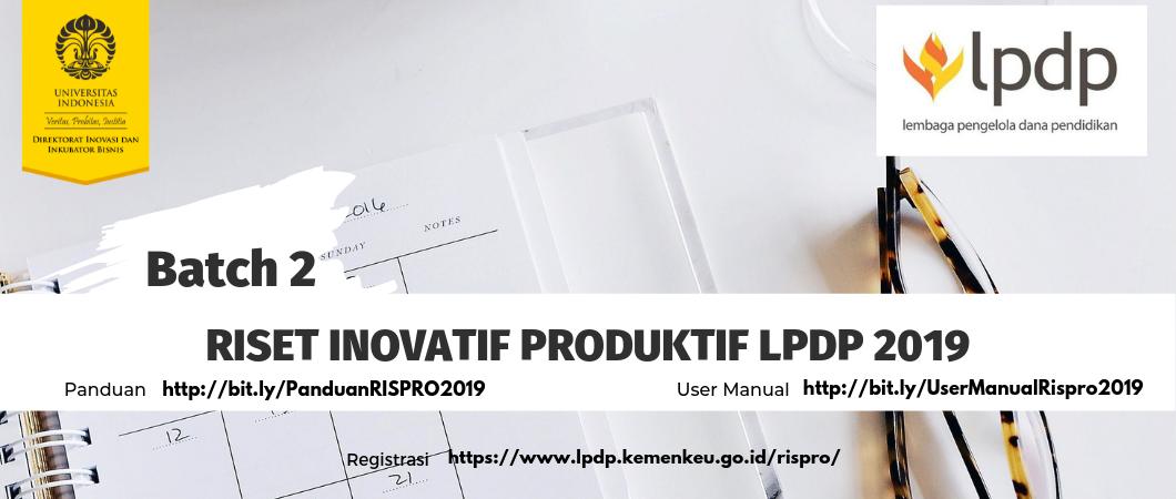 RISET-INOVATIF-PRODUKTIF-LPDP-2019